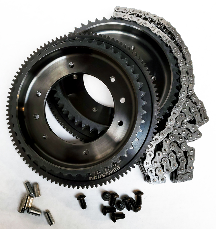 Sprocket and Ring Gear Kits with Chain and Hardware