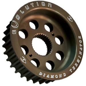 Big Twin Aluminum Transmission Pulley